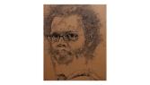 Cartoon Swamp Jazz – ink on board – 1040 x 1283mm