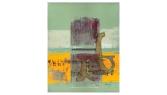 Plaintive gander - oil on canvas - 380 x 479mm