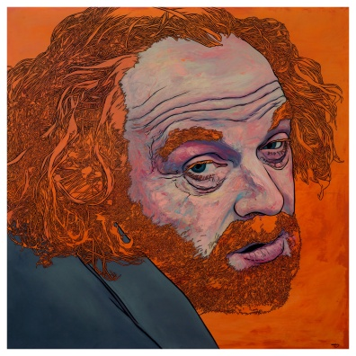 Barry.. is that you? (2015) – oil on board – 1236 x 1055mm